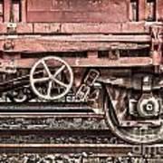 Train Wagon Art Print