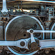Train Wheels Art Print