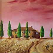 Tramonto Art Print by Niki Mastromonaco