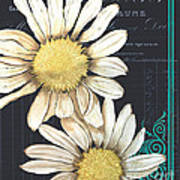 Tranquil Daisy 1 Print by Debbie DeWitt