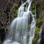 Tranquil Waterfall Art Print
