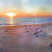 Tranquility Beach Art Print by Betsy Knapp