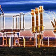 Transfer Of Power Art Print