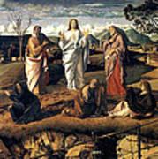 Transfiguration Of Christ 1487 Giovanni Bellini Art Print