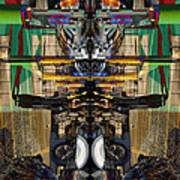 Transformers Transition Hcc Sw Parking Lot  Art Print