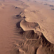 Transverse Sand Dune Namib-naukluft Np Art Print