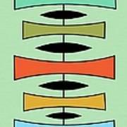 Trapezoids 2 Art Print