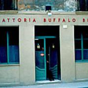 Trattoria Buffalo Bill 1962 Art Print