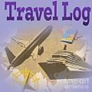Travel Log Art Print