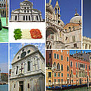 Travel To Venice  Art Print