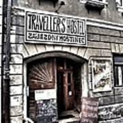 Travellers Hostel - Cesky Krumlov Art Print