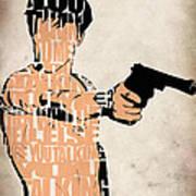 Travis Bickle - Robert De Niro Art Print by Ayse Deniz