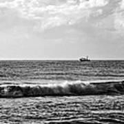 Trawling The Horizon Art Print