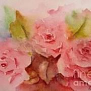 Tre Rose Art Print