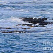 Treacherous Shorebreak Art Print
