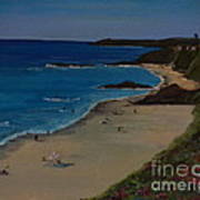 Treasure Island Laguna Beach Art Print
