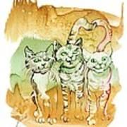 Tree Brothers  Art Print