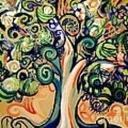 Tree Candy 2 Art Print