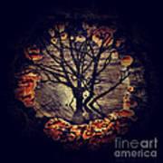 Tree Circle 2 Art Print