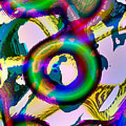 Tree-dimensional Ring Art Print