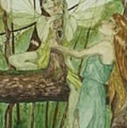 Tree Fey Art Print