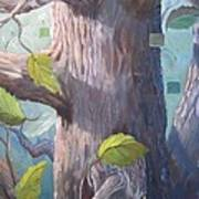 Tree Hugger Art Print by Paula Marsh