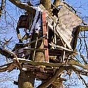 Tree Hut Art Print
