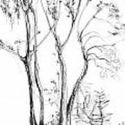Tree Art Print by Khaya Bukula