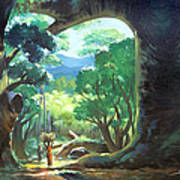 Tree Landscape Art Print