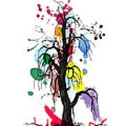 Tree Art Print by Mark Ashkenazi