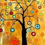 Tree Of Happiness 647 - Marucii Art Print