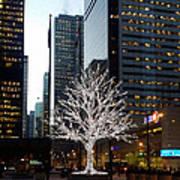Tree Of Lights II Art Print