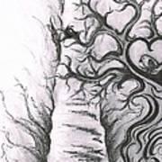 Tree Of Love Art Print