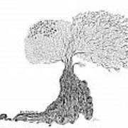 Tree Of Uncertainty Art Print