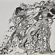 Tree People Art Print by Glenn Calloway