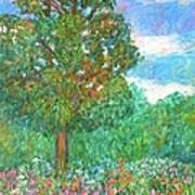 Tree Poem Art Print