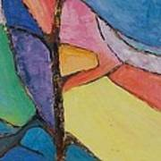 Tree Sky Symphony - Sold Art Print