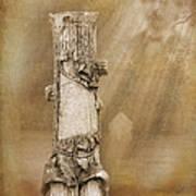 Tree Stump 2 The Forgotten Series 15 Art Print