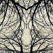 Tree Veins Art Print
