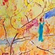 Tree Walking Art Print