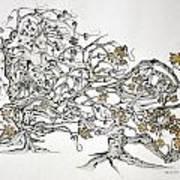 Tree Witch Art Print by Glenn Calloway