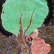 Tree With Magic Art Print