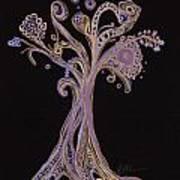 Trees 12 Art Print