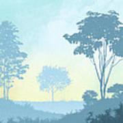 Trees Everywhere Art Print