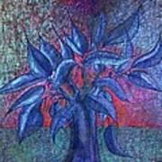 Trees Flower  Art Print