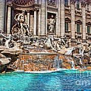 Trevi Fountain Art Print