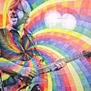 Trey Anastasio Rainbow Print by Joshua Morton