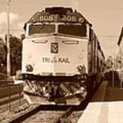 Tri Rail 808 Art Print