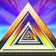 Triangle Pathway Art Print