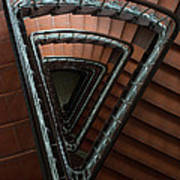 Triangle Staircase Art Print